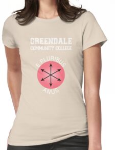 Greendale - E Pluribus Anus Womens Fitted T-Shirt