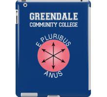 Greendale - E Pluribus Anus iPad Case/Skin