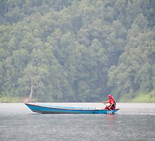 On Begnas Lake by Christopher Cullen