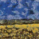 Field Of Flowers by Linda Miller Gesualdo