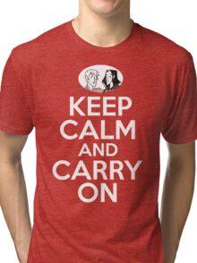 Keep Calm and Carry On, Simon Snow Tri-blend T-Shirt