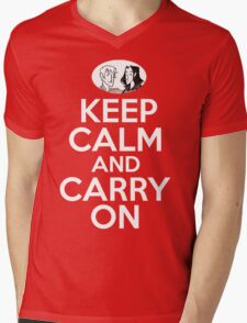 Keep Calm and Carry On, Simon Snow Mens V-Neck T-Shirt