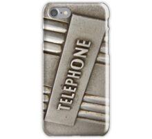 TELEPHONE. iPhone Case/Skin
