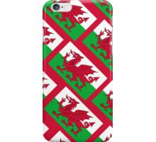 Smartphone Case - Flag of Wales  - Diagonal iPhone Case/Skin