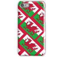 Smartphone Case - Flag of Wales  - Diagonal iPhone Case/Skin