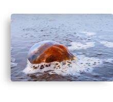 Spilled Jewels - Digital Oil Canvas Print