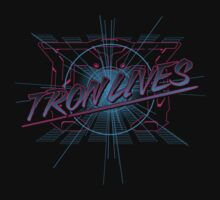 Tron Lives Kids Tee
