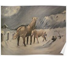 Braving The Elements by Robert Ricketts Poster