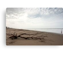 Beach Scene - Playas, Ecuador Canvas Print