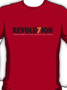 "49ERS ""REVOLU7ION"" T-SHIRT (RED) T-Shirt"