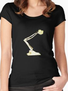 Architect's Drafting Lamp Women's Fitted Scoop T-Shirt