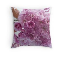 It's Cherry Blossoms Time Throw Pillow