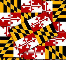 Smartphone Case - State Flag of Maryland  - Multiple by Mark Podger