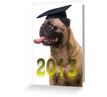 Happy Graduation 2013 Blank Card Greeting Card
