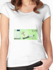 ROBERT FICO Women's Fitted Scoop T-Shirt