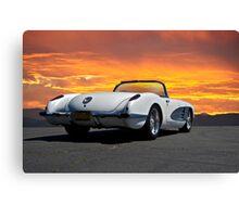 1959 Corvette Roadster VI Canvas Print