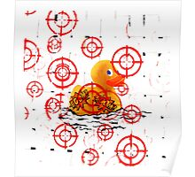 Target the Duck Poster