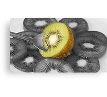 New Zealand Kiwi Fruit Canvas Print