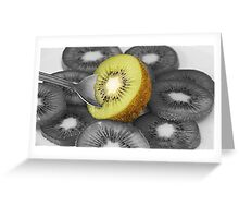 New Zealand Kiwi Fruit Greeting Card