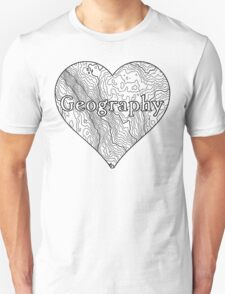 Geography Heart Unisex T-Shirt