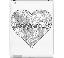 Geography Heart iPad Case/Skin