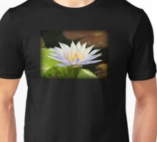 Lovely White Water Lily Unisex T-Shirt