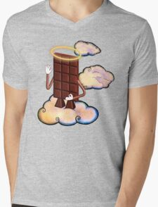 May Chocolate god bless you! Mens V-Neck T-Shirt
