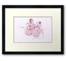 For the little ladies Framed Print
