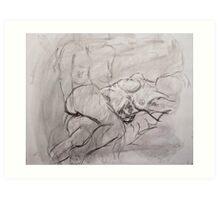 Study of Female Figure Art Print