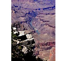 Mighty Colorado--Sculptor of Ages Photographic Print