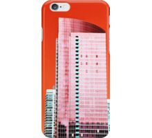 Skyscraper Red iPhone Case/Skin