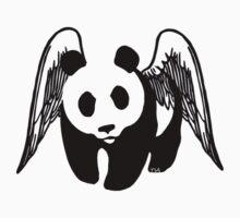 little panda angel  Kids Tee