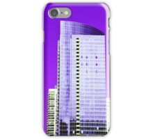 Skyscraper Purple iPhone Case/Skin