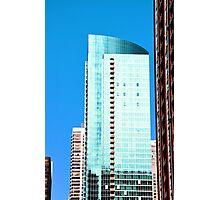 Skyscraper Blue Photographic Print