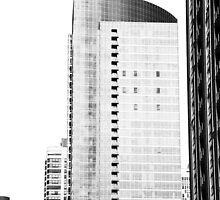 Skyscraper Black & White by schiggityschway