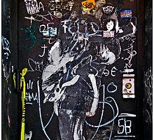NYC Graffiti by Mark Ross