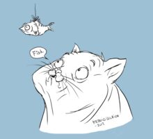 A cat and its fish by HedvigU