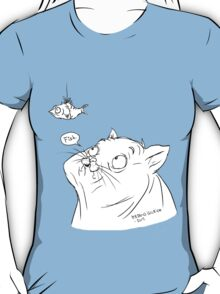 A cat and its fish T-Shirt