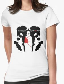 What do you see? Womens Fitted T-Shirt