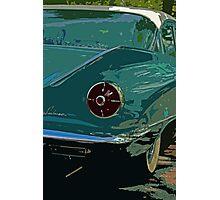 Turquoise LeSabre Photographic Print