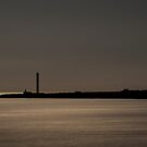 Lighthouse Silhouette by Georden