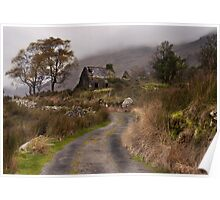 Black Valley Cottage Poster