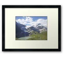 Melted Glacier Framed Print