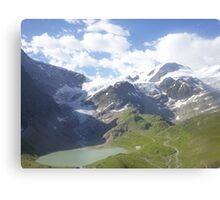 Melted Glacier Canvas Print