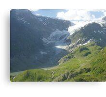 Melted Glacier_2 Canvas Print