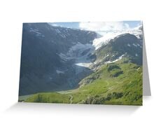 Melted Glacier_2 Greeting Card