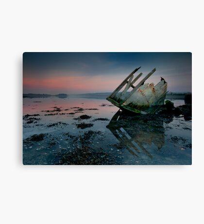 Stern Sunset Canvas Print