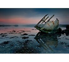Stern Sunset Photographic Print