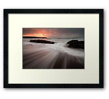 Guileen Sunrise Framed Print