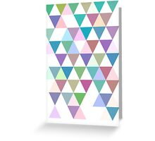 Triangle Greeting Card